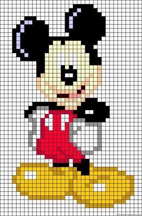 pixel art disney
